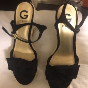 Guess wedge heeled straps sandals